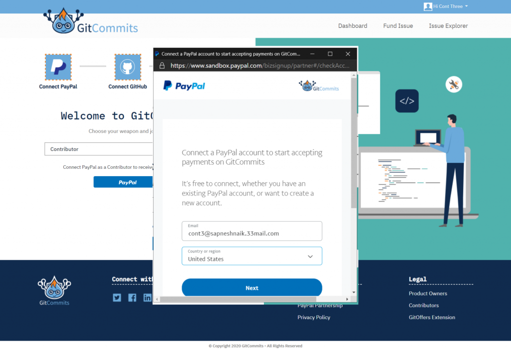 Connect PayPal 2